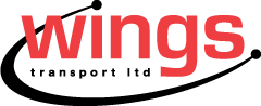 Wings Transport Logo